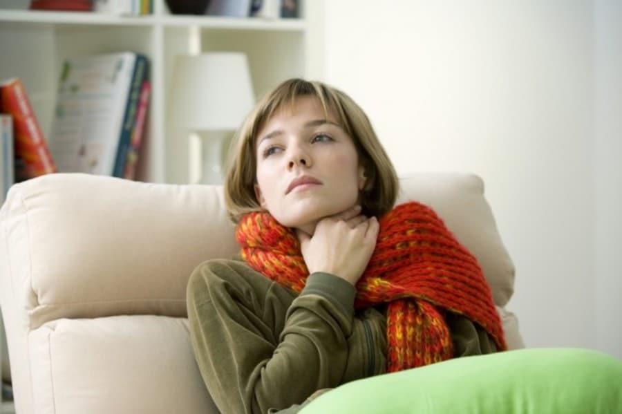 Заболевшее горло