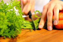 Морковная ботва для настойки