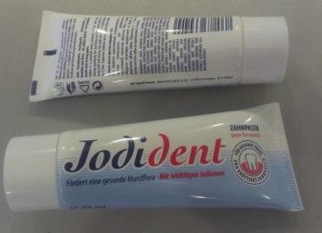 Лечения и профилактика пародонтита зубной пастой Йодидент
