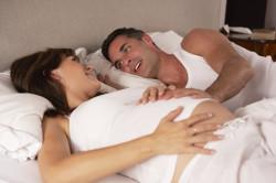 Секс во время беременности - причина коричневых выделений