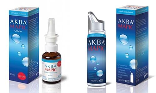 Аква Марис и Аква Марис Стронг - это препараты, помогающие справляться с заложенностью носа и отеком его слизистой оболочки