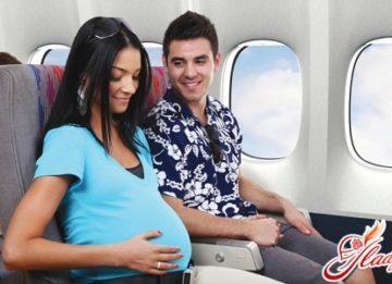 Совместимы ли беременность и самолет?