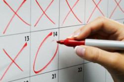 Календарный метод расчета безопасного периода