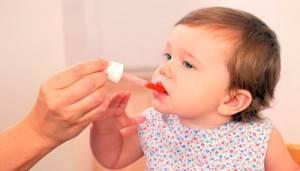 Прием витаминов при тонзиллите