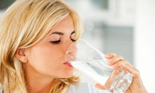 Пациент должен увеличить количество потребляемой жидкости