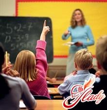Выбор школы и первого учителя