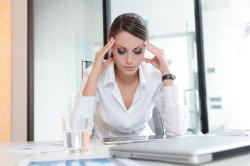 Стресс - причина нарушения менструального цикла