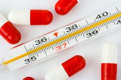 Повышение температуры тела при заражении СПИД