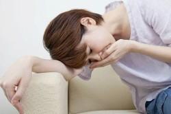 Тошнота - симптом поверхностного бульбита