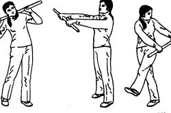 Упражнения с палкой для здоровья спины
