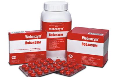 Вобэнзим: форма выпуска - таблетки покрытыте оболочкой