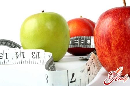 яблочная диета нестандартная