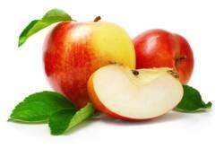 Яблоки для понижения обильности кровянистых выделений во время месячных